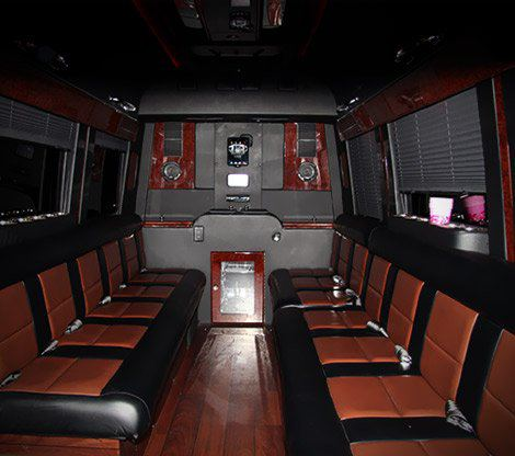 Mercedes-Benz Sprinter Limo Van Interior